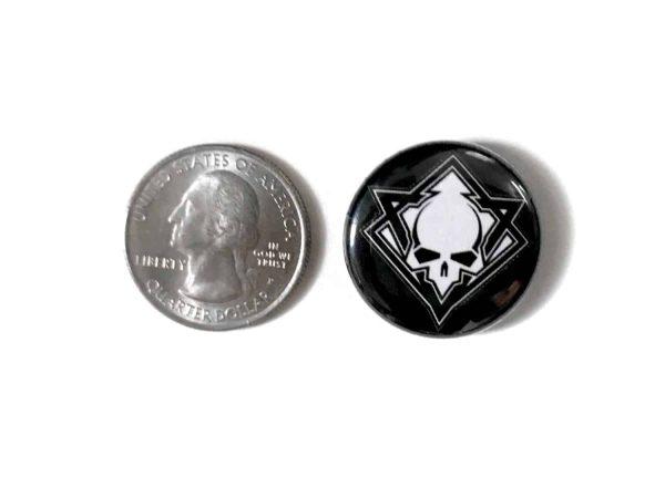 Cultic Skull Pin