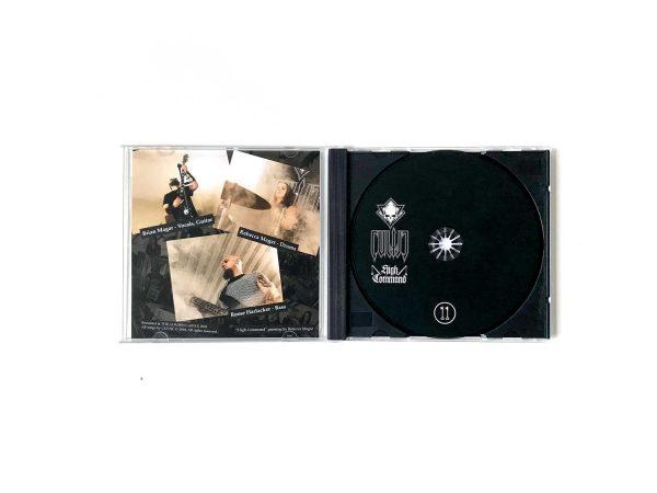 Cultic High Command CD-r Insert