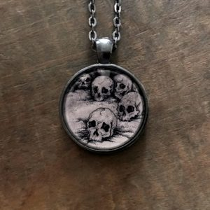 Skulls Pendant Necklace