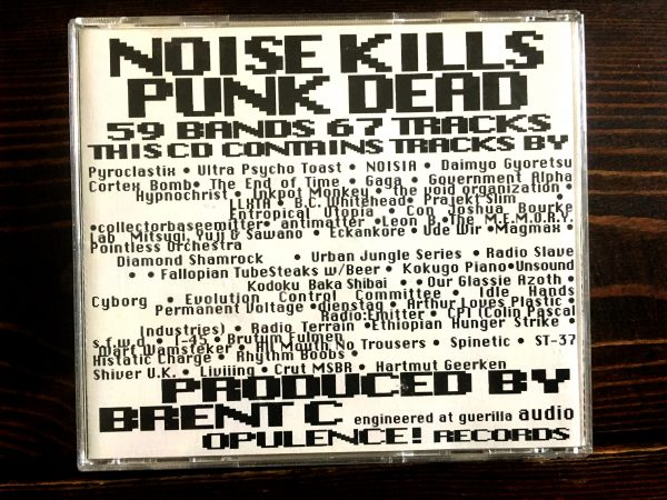 Noise Kills Punk Dead CD 1999