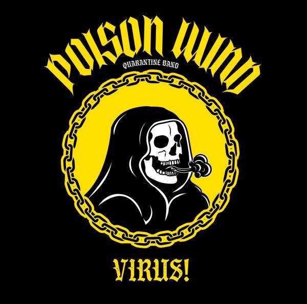 Poison Wind - Virus! Album Cover